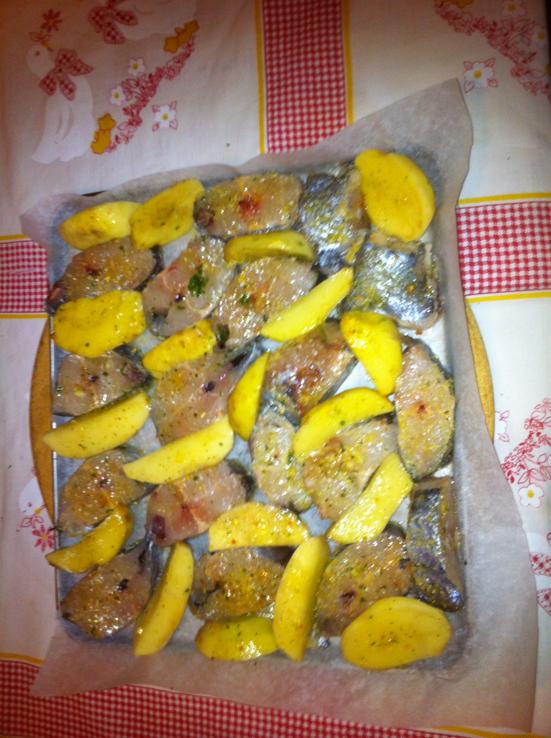 hoki riba recept