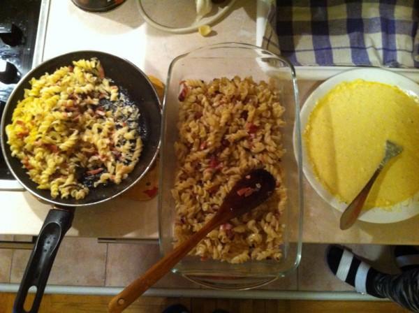 preliv od jaja i pavlake za makaronu