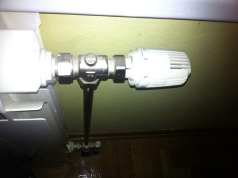 ventil na radijatoru